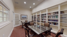 The Main Cottage - Library