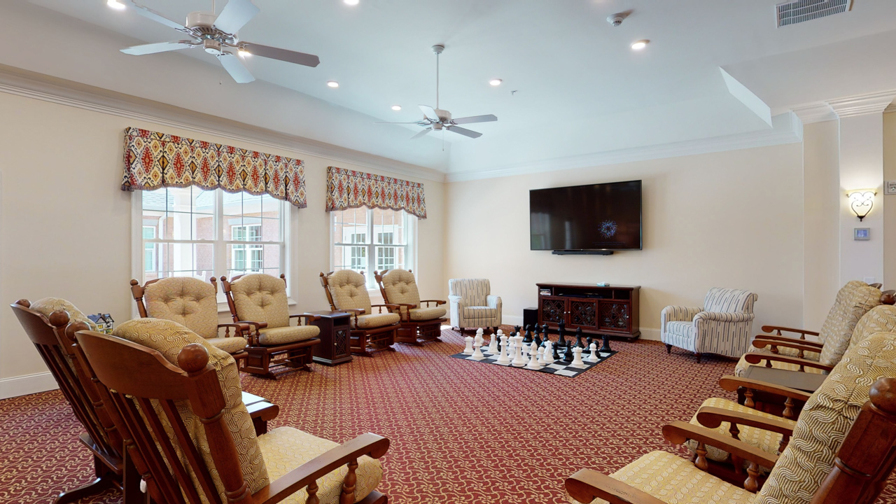The Main Cottage - Television Room